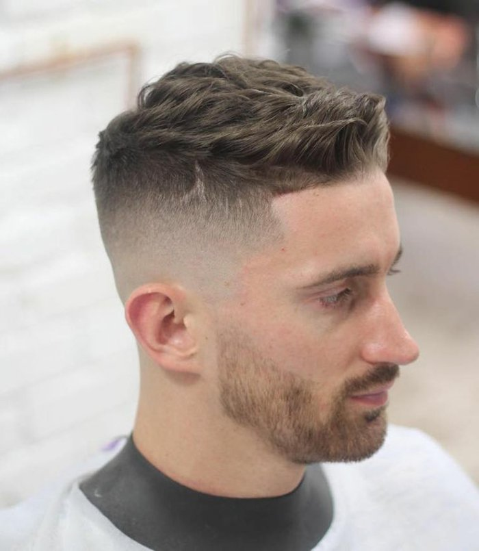 Coupe homme court