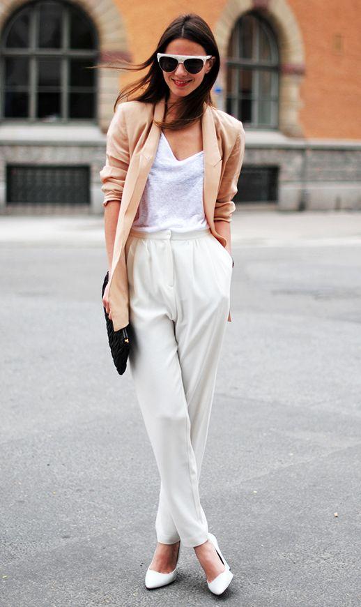 Jupe culotte blanc tendance 2016