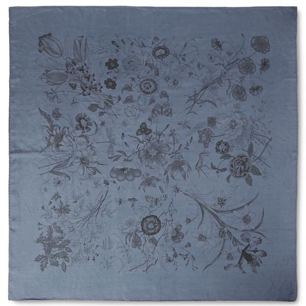 Tendance écharpe pour homme automne-hiver - L'écharpe florale