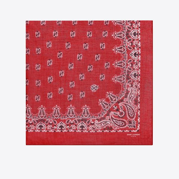 Tendance écharpe pour homme automne-hiver - L'écharpe bandana