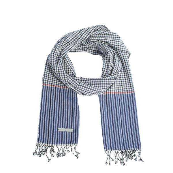 Tendance écharpe pour homme automne-hiver - L'écharpe cambodgienne