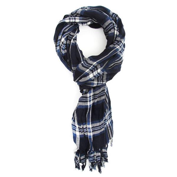 Tendance écharpe pour homme automne-hiver - L'écharpe preppy