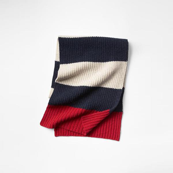 Tendance écharpe pour homme automne-hiver - L'écharpe rugby GAP
