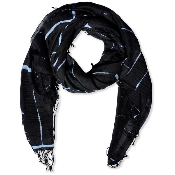 Tendance écharpe pour homme automne-hiver - L'écharpe tie&dye