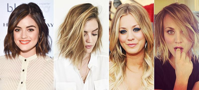 Tendance Coiffure Femme - 50 des meilleures coupe de cheveux des stars avant et après