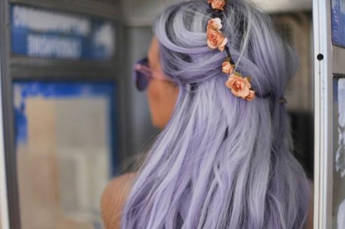 beauté-tendance-couleur-cheveux-hiver-2016-violet-fleurs