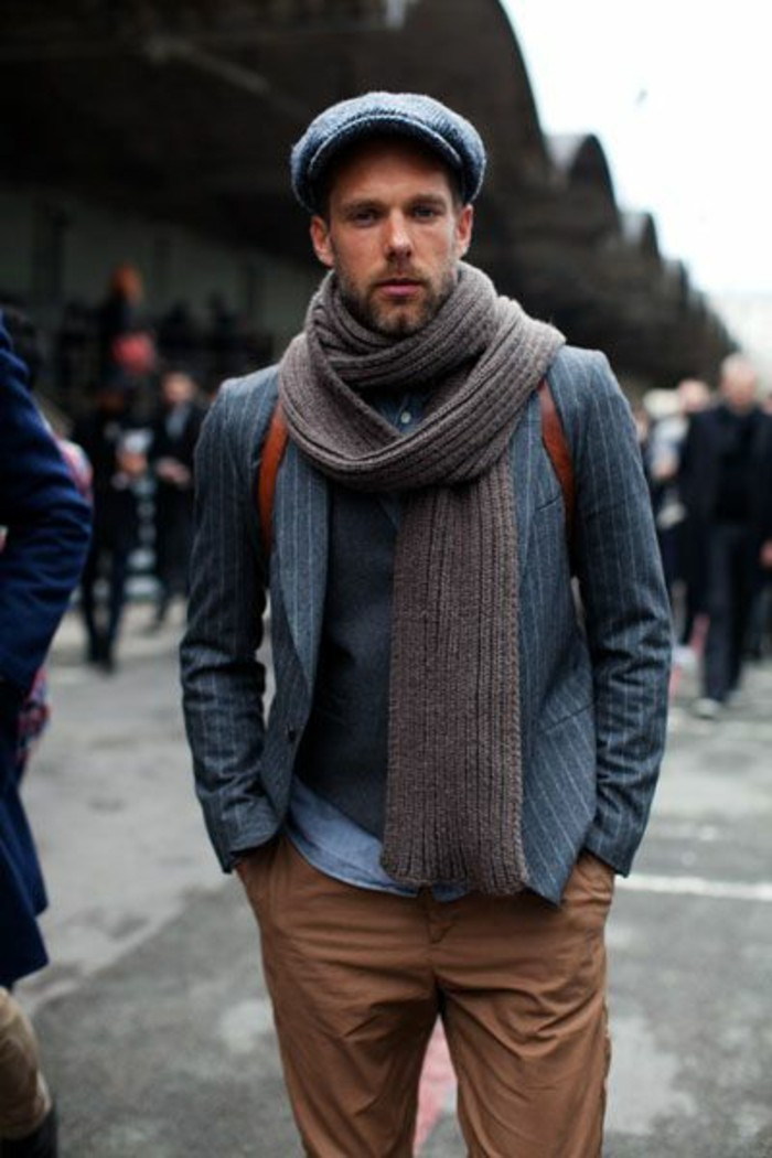 Écharpe pour homme - quelle est la meilleure option pour vous  b39fb73ffc1