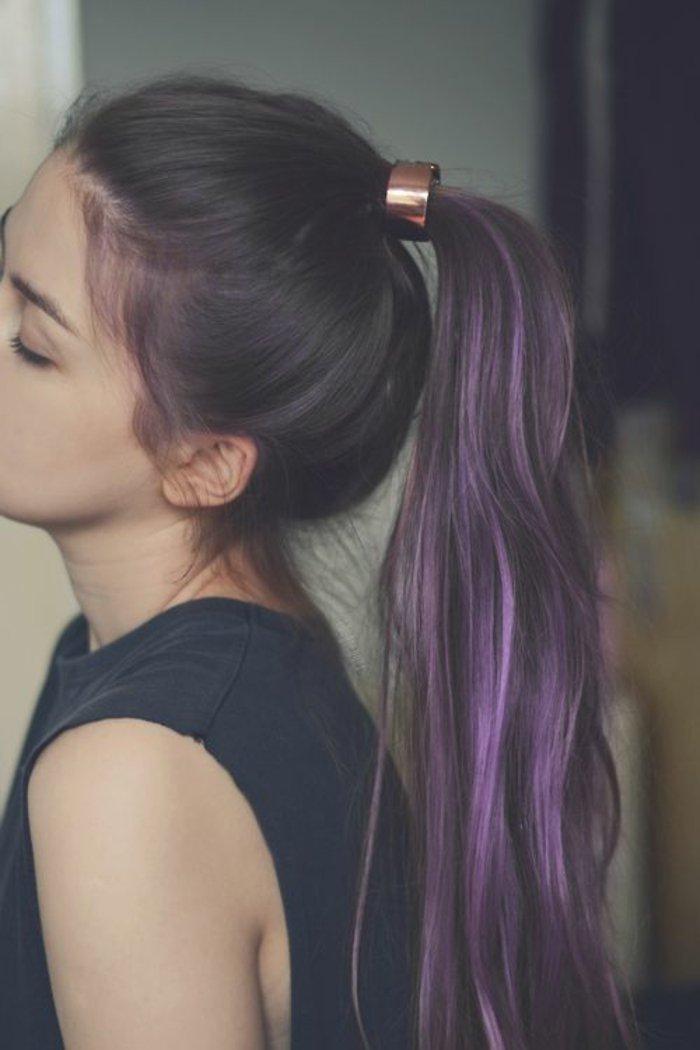 coloration cheveux couleur cheveux tendances coloration cheveux couleur - Coloration Violet Sur Cheveux Noir