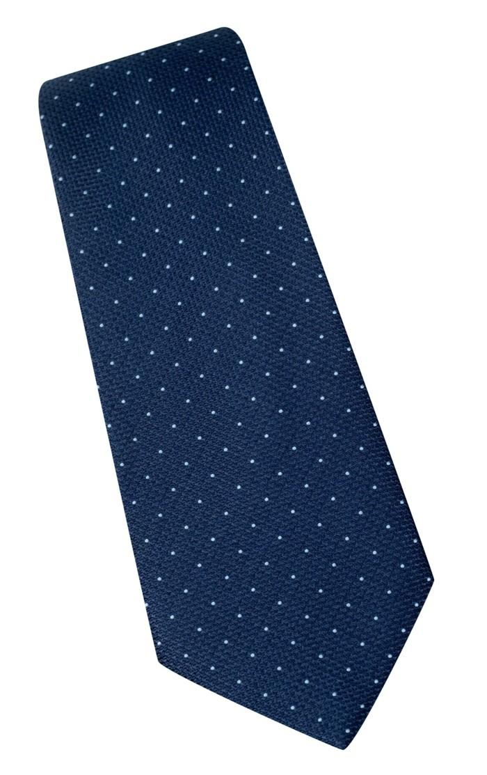 cool-cravate-en-soie-idée-marine-a-pois-ciel-