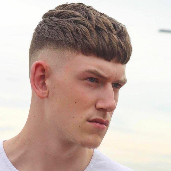 Coupes de cheveux pour les noms des hommes cheveux courts