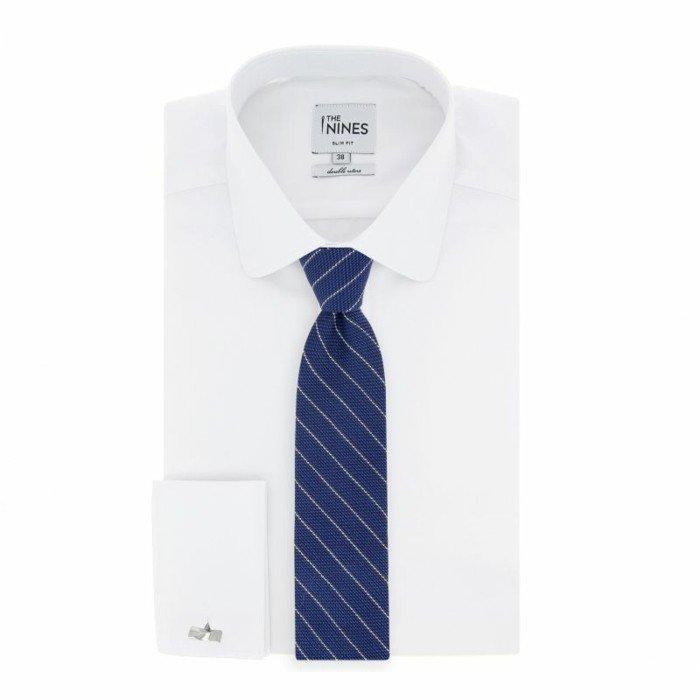 cravate-pour-homme-en-grenadine-de-soie-et-coton-bleu-cobalt-a-rayures-blanches-the-nines-resized
