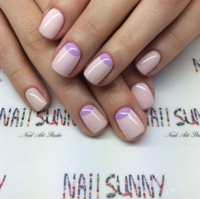 manucure-demi-lune-nail-art-couleur-lavende