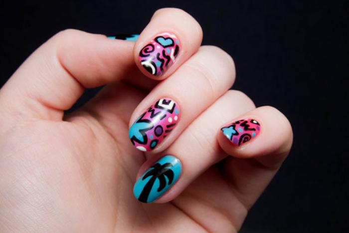 essayez la manucure graffiti id es et conseils pour r ussir son nail art. Black Bedroom Furniture Sets. Home Design Ideas