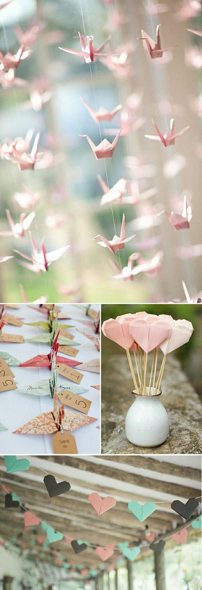 0-originale-decoration-mariage-en-papier-coloré-en-rose-comment-bien-decorer