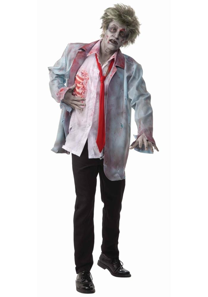 deguisement halloween zombie maison