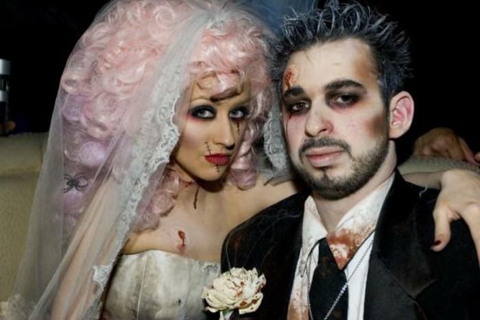 ... halloween hollywoodienne, idee deguisement halloween formidable
