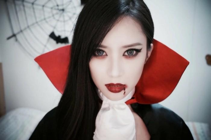 maquillage vampire femme facile a faire