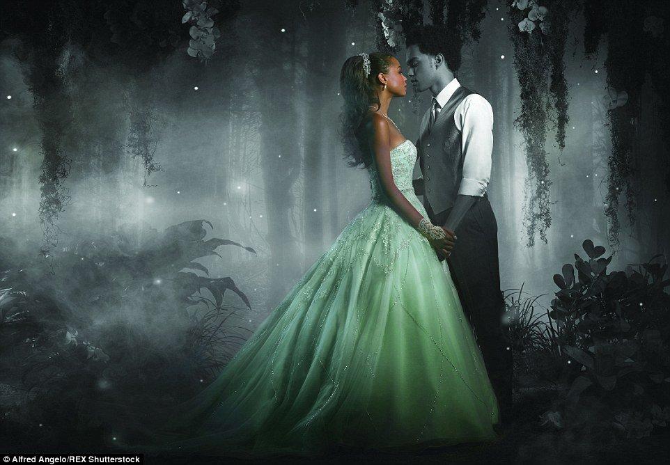 Robe de princesse disney tendance 2017 - Tiana, La princesse et la grenouille