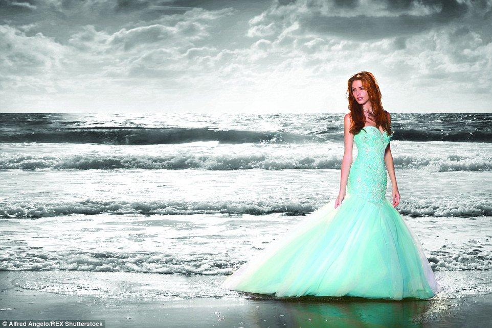 Robe de princesse disney tendance 2017 - Ariel, La petite sirène
