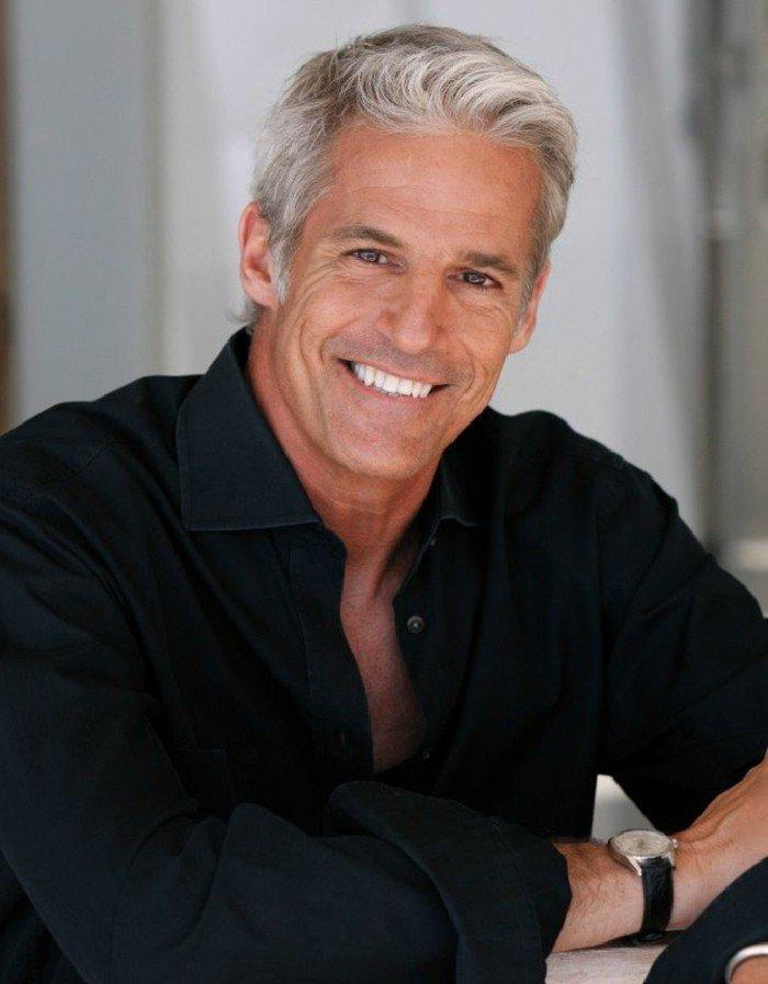 coloration cheveux homme  u2013 les cheveux grises pour la saison 2017