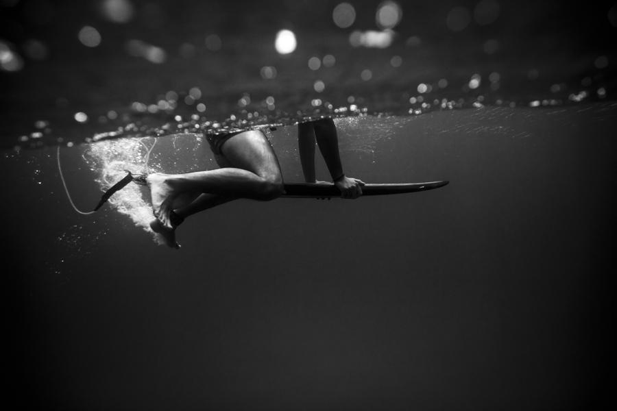 Florian Gruet se jette à l'eau pour photographier les paysages côtiers !