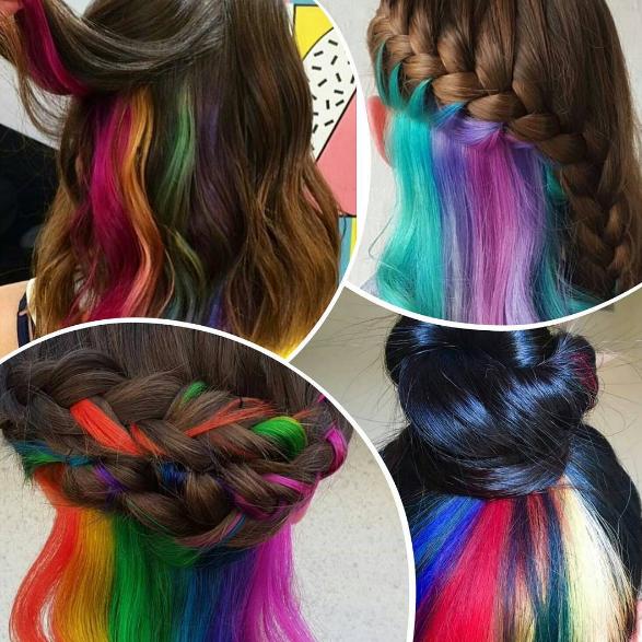 Guide: On vous dit tout sur le rainbow hair caché