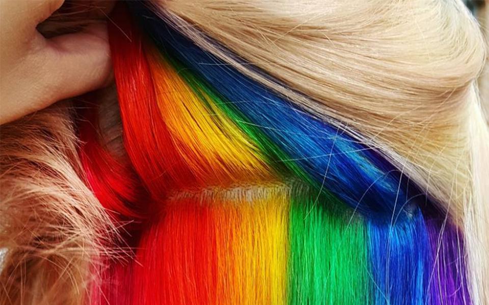cheveux arc en ciel la nouvelle tendance coiffure 2016 2017 guide. Black Bedroom Furniture Sets. Home Design Ideas