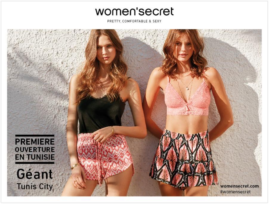 La marque de lingerie Women'secret débarque en Tunisie