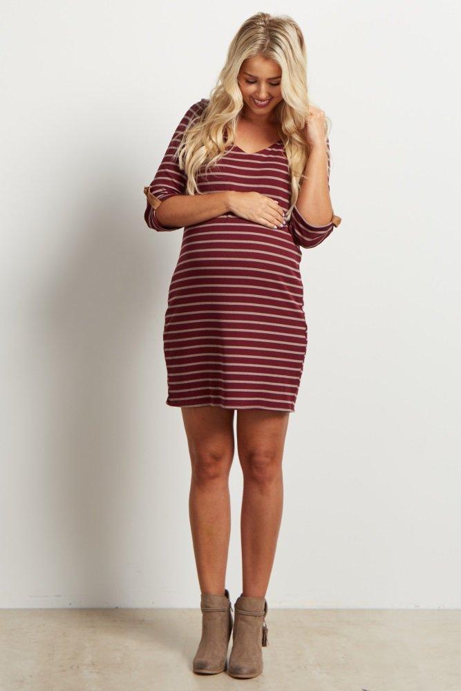 Robe de grossesse courte tendance 2017 - Modele 13
