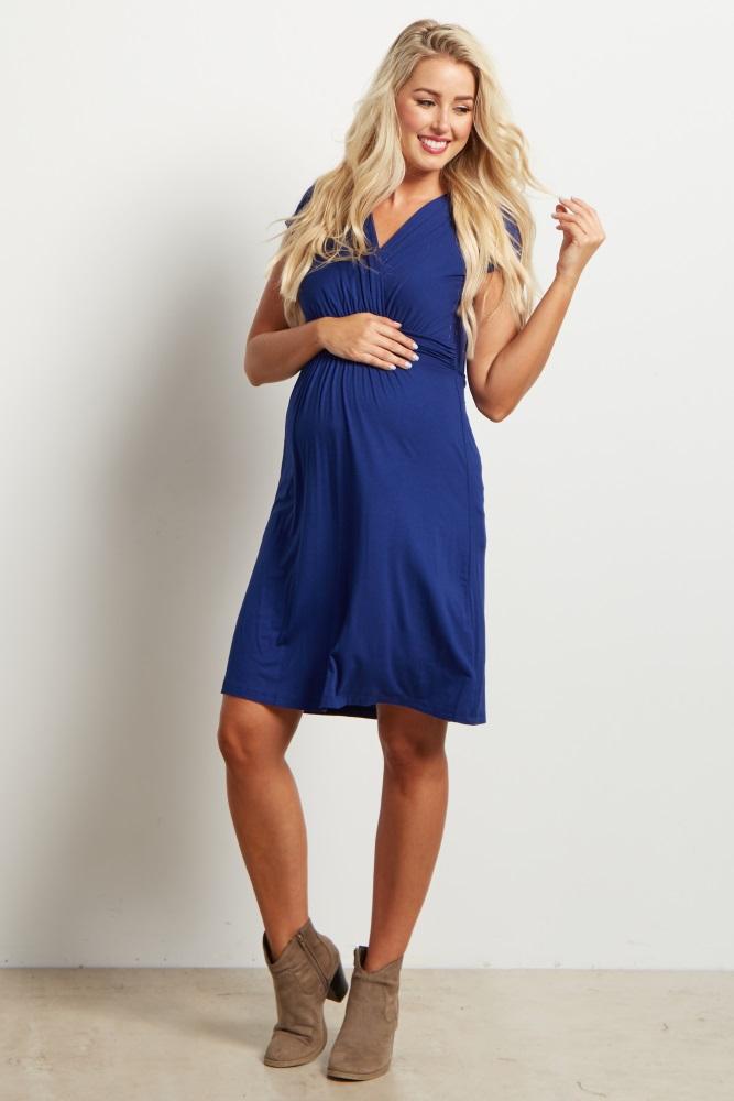 Robe de grossesse courte tendance 2017 - Modele 21