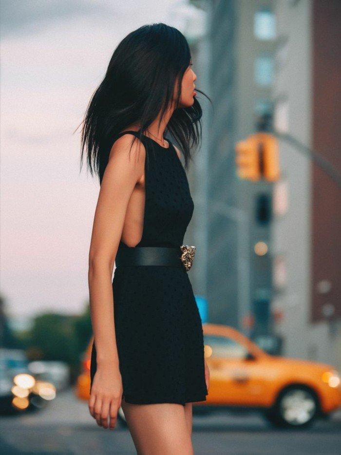 Robe de soirée noire courte Tendance 2017 - Modèle 1 Belle robe noire chic courte