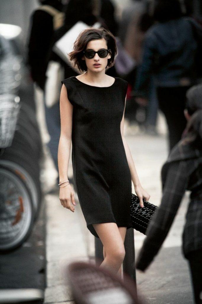 Robe de soirée noire courte Tendance 2017 - Modèle 8 Petite robe noire chic très élégante