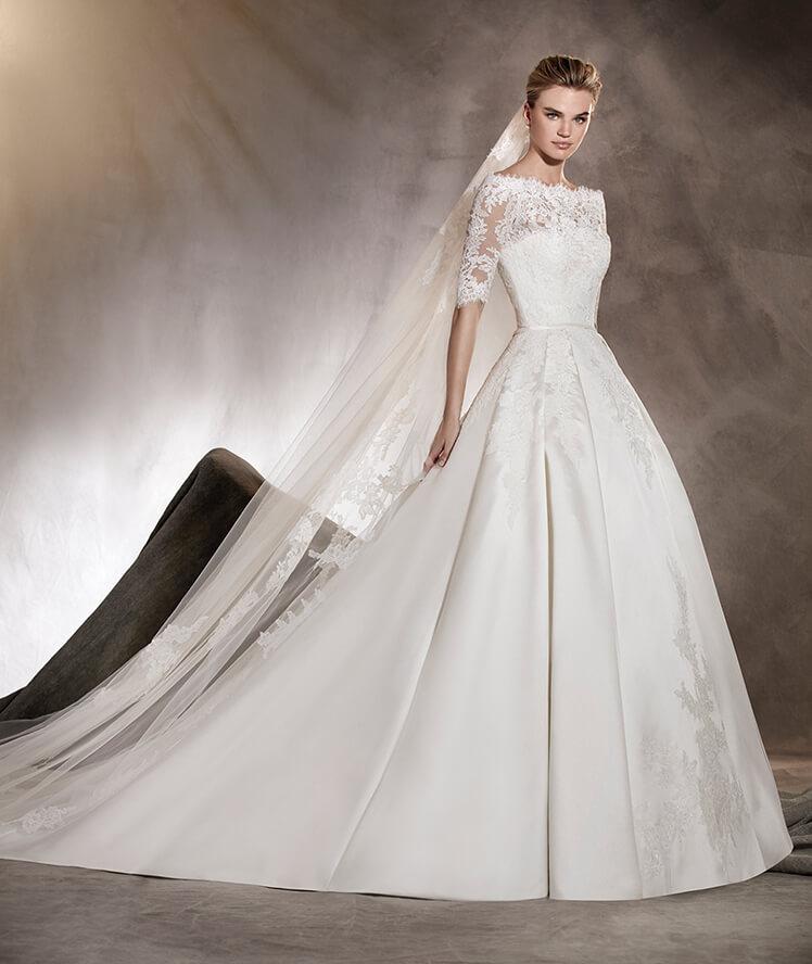 Robes de mariée princesse 2017 - Modèle ALBASARIRobes de mariée princesse 2017 - Modèle ALBASARI