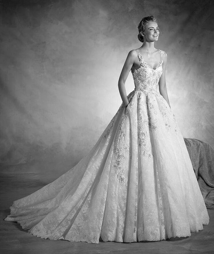 Robes de mariée princesse Tendance 2017 - Modèle NORTE