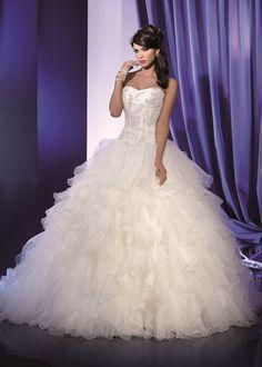 Robes de mariée princesse tendance 2017 - Collection LES MARIES D'APHRODITE 2017 - look 2