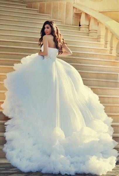 Robe de mariée princesse tendance 2017 , Modèle 13