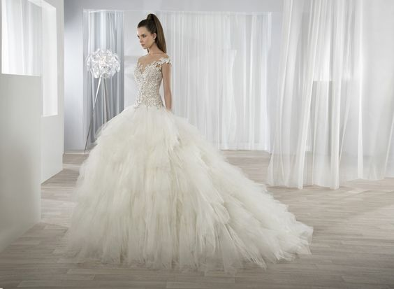 Robes de mariée princesse tendance 2017 - Modèle DEMETRIOS