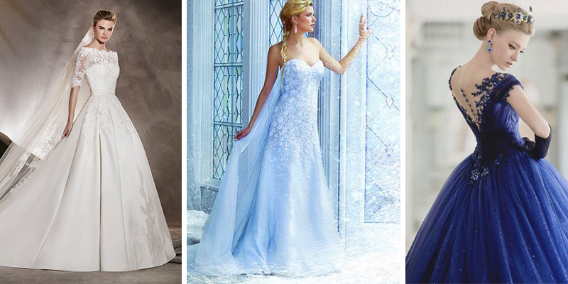 Tendance Mode – 24 Robes de mariée princesse 2017 en photos