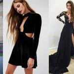 Tendance Mode - 30 des plus élégantes robes de soirée noires 2017 en photos