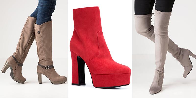 tendance mode les 24 plus belles boots et bottines femme 2017 photos. Black Bedroom Furniture Sets. Home Design Ideas