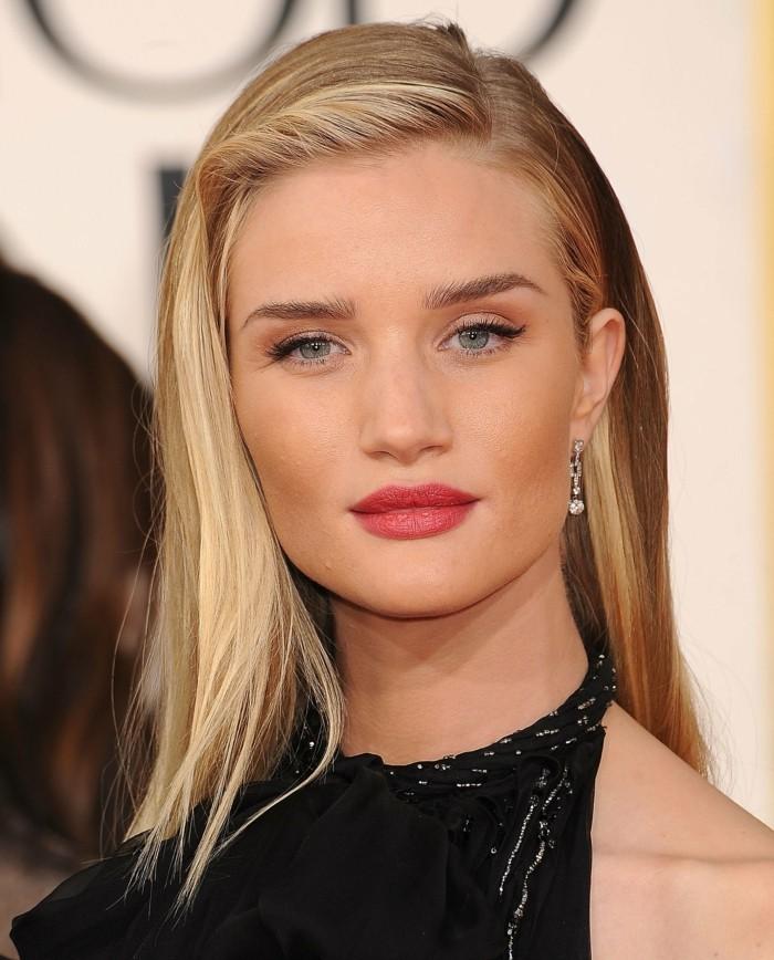 cool-maquillage-pour-une-soirée-Rosie-Huntington-Whiteley-idée-diy