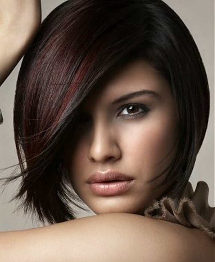 Coupes de cheveux asymГ©triques et coloration des cheveux
