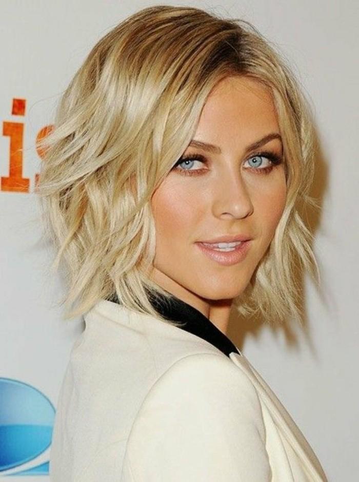 coiffure femme blonde