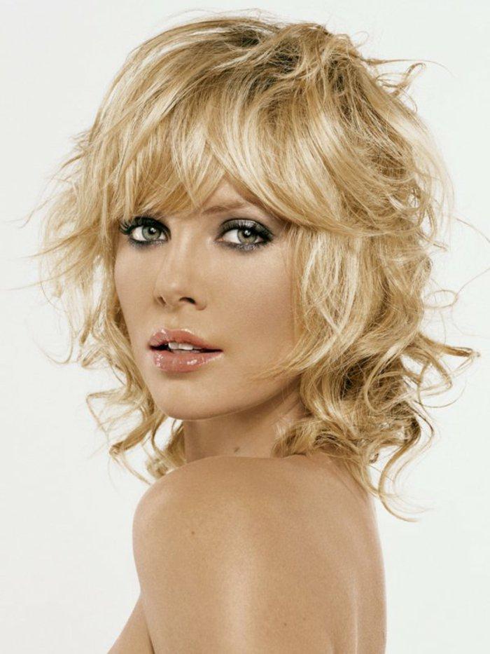 Visage carre femme coiffure ideale