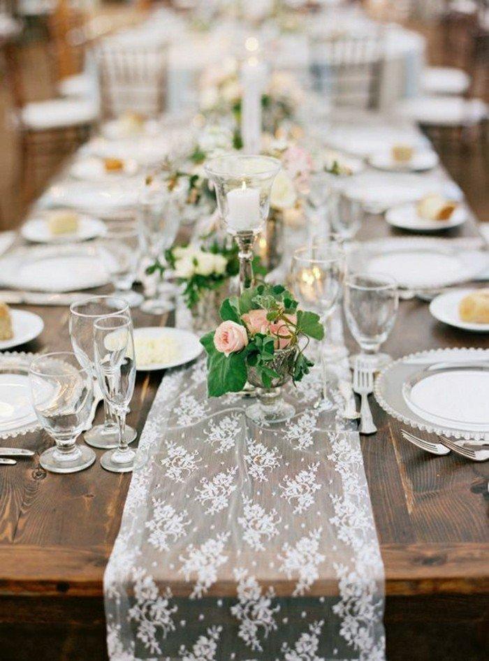 deco-table-mariage-chemin-de-table-mariage-en-dentelle-mariage-champetre