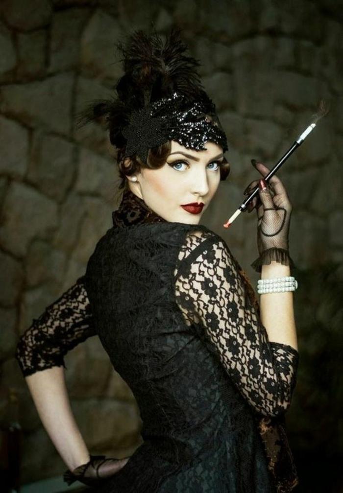 jolie-allure-garconne-une-idee-tres-originale-pour-votre-deguisement-idee-deguisement-halloween-tres-retro-tres-elegante