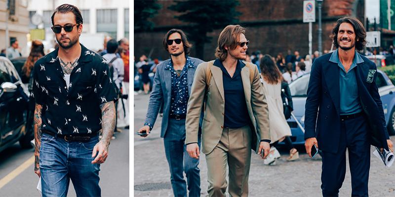 8 looks faciles pour homme, inspirés de la Fashion Week 2017