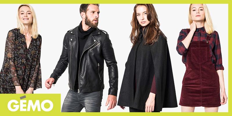 Manteau cape femme gemo