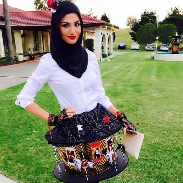 Hijab style Halloween - Look 2 : La Carrousel