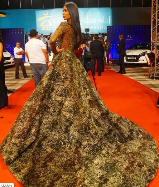 On aime la robe de Farah Abdel Aziz - Invitée JCC 2016